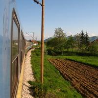 Vonattal a Bosna völgyében - couchsurfing.com