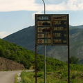 Albánia! Végre itt vagyunk!