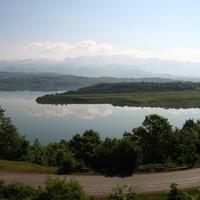 Reggeli az Ulzes-tó fölött