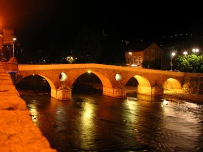 Szarajevó, Belváros