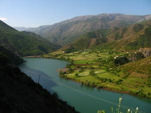 Albánia, Shkopet-tó