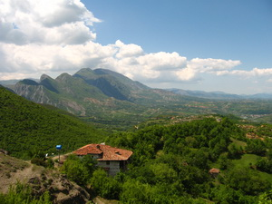 albán hegyek