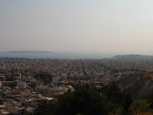 A Filopappus dombon - Gyönyörű kilátás az Akropoliszra