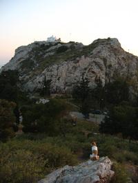 Naplemente a Likavitosz dombról