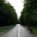 Szlovéniában eltévedünk, és defektet kapunk :)