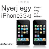Celldorado - Nyerj egy iPhone 3G-t!