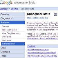 Webmaster Tools ráncfelvarrás