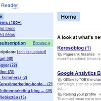 Google Reader megújulás