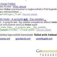 Google újítások a találati oldalakon