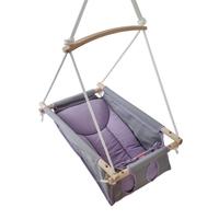 Baby swing - levander grå