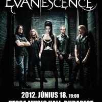 Budapestre látogat az Evanescence!