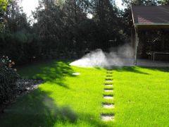 Automata öntözőrendszer víztelenítés