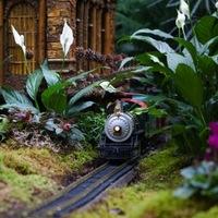 Vonatot a kertbe!