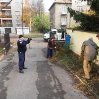 Ültetés a polgárőröknél