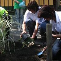 Virágzó Zugló Program csapata gyönyörű utcafrontot varázsolt a Polgárőrség székházánál