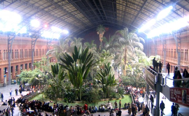 Az Atocha nem csak Madrid, hanem egész Spanyolország legnagyobb pályaudvara