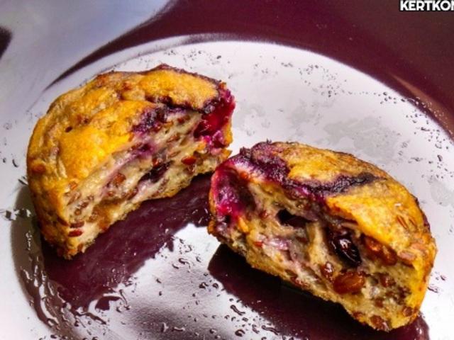 Muffin (főleg) gyümölcsből