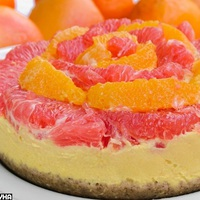 Narancsos és grapefruitos vitaminbomba torta (sütés nélkül)