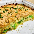 Rakott brokkoli karfiolos csőben