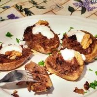 Káposztás krumpli kosárkák