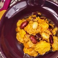 Egzotikus sütőtök curry