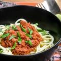 Vegán bolognai spagetti