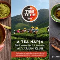 THE TEA PARTY - A Tea Napja
