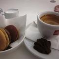 Kávé és macaron