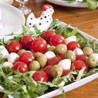 Húsvéti salátafészek