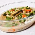 Thai zöld curry tavaszi zöldségekből