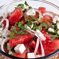 Nigella, én, meg a görögdinnye saláta