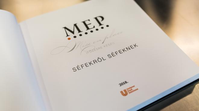 M.E. P. – Főzésre kész! (portrégyűjtemény séfekről, séfeknek)