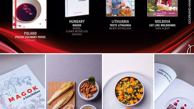 Gourmand World Cookbook Awards 2017 - EZÜSTÉREM!