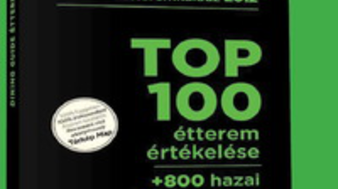 TOP 100 magyar étterem