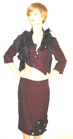 Kosztüm Junya Watanabe stílusban