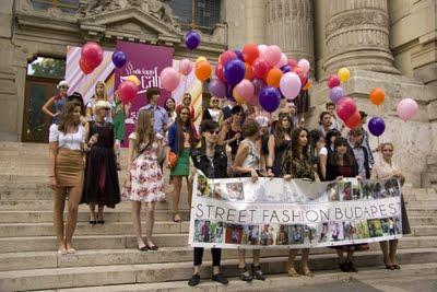 Street Fashion Budapest bemutató