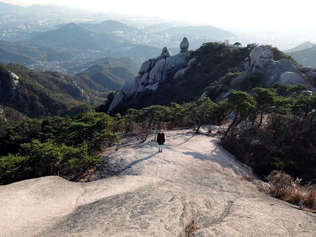 Szöul legmagasabb hegye: a Bukhansan