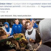 Orbán Viktornak fontosak lettek a menekültgyerekek, persze csak miután elmentek a menekültek Magyarországról