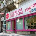 A rózsaszín laptop-üzlet története a 12. századtól