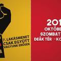 Nagyszabású felvonulást rendeznek Budapesten a lakhatási válság felszámolására