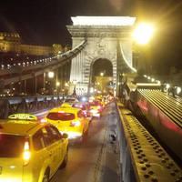Taxisok demonstrálnak Budapesten