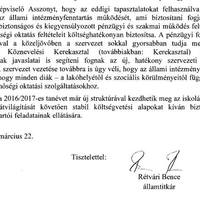 Itt a dokumentum arról, mi változik a KLIK-ben: semmi - Rétvári bejelentése kamu volt