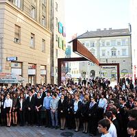 Budapestről is rendeltek gyerekeket a március 15-i állami ünnepségekre!