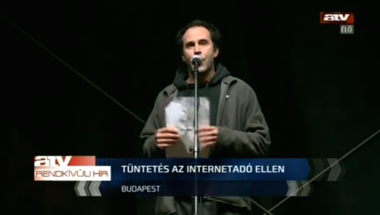 Béna drogváddal próbálja hitelteleníteni a Hír TV az őszi tüntetéseket