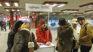 Kik finanszírozzák az olimpiai aláírásgyűjtést?