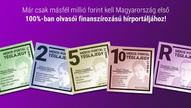 Már csak másfél millió forint, és felépítjük közösen Magyarország első közösségi finanszírozásból működő portálját!