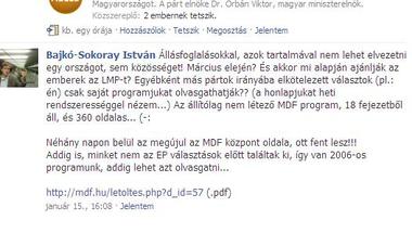 MDF-ből a Fideszbe