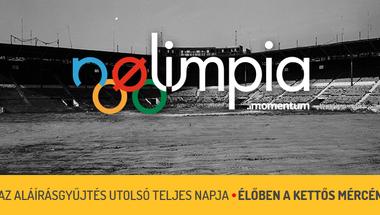 Az utolsó teljes nap – percről-percre az olimpiáról szóló népszavazás aláírásgyűjtésének hajrájából
