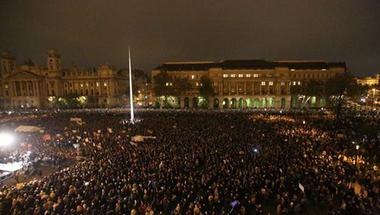 Nem a megoldás hiánya a probléma a hétfői tüntetéssel