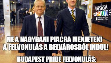 Kedves Viktor, István, Máté! Gyertek el velem a Budapest Pride-ra, és ismerjétek meg az embert!